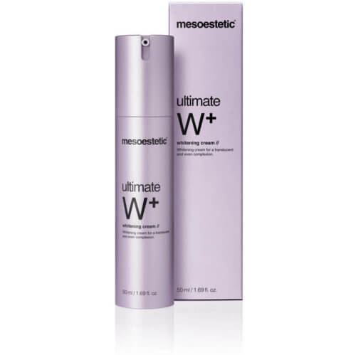 mesoestetic ultimate W+ whitening cream