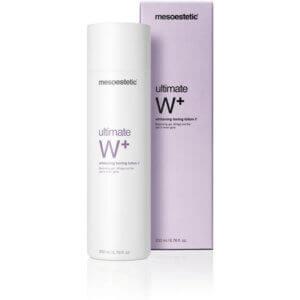mesoestetic ultimate W+ whitening toning lotion