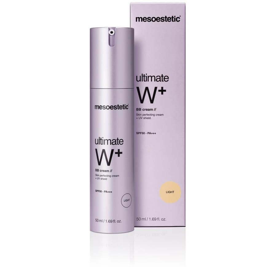 mesoestetic ultimate W+ whitening BB cream light
