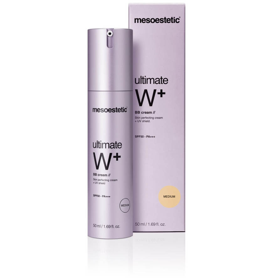mesoestetic ultimate W+ whitening BB cream medium