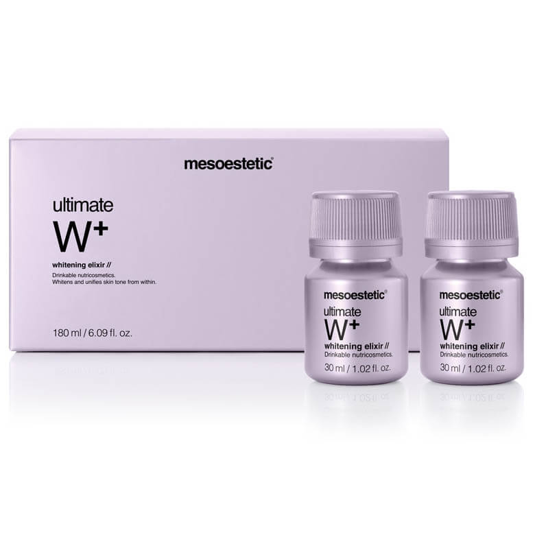 mesoestetic ultimate W+ whitening elexir