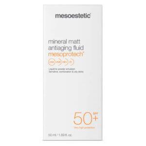mesoestetic mesoprotech mineral matt fluid 50+