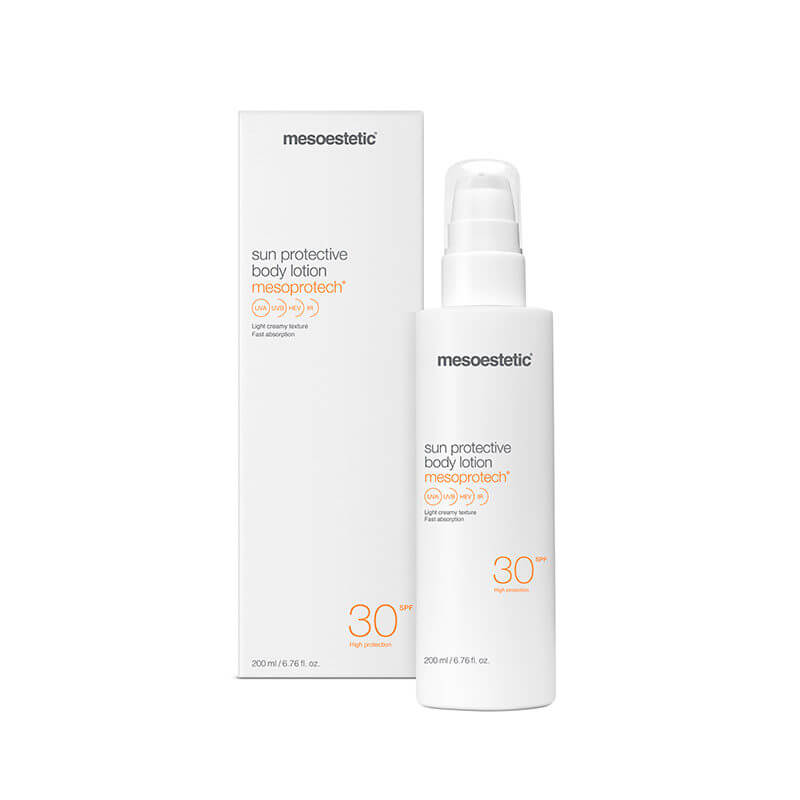 mesoprotech sun protechtion body lotion30+